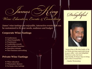 Sommelier James King feat. on WTTV